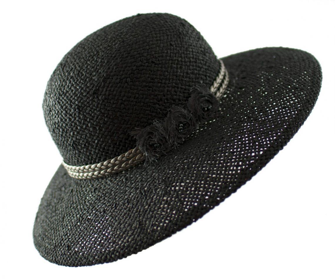 chapeau de mariage : le chapeau de paille